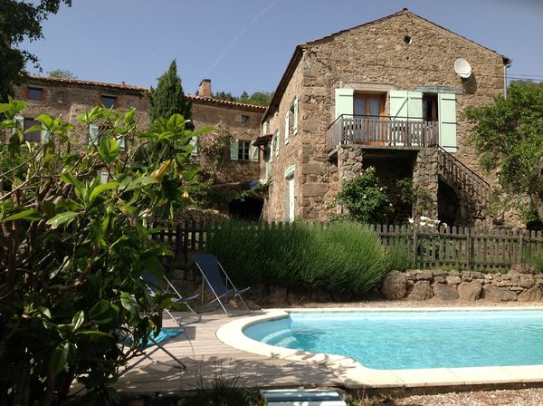 Gîte La Prioulat (Saint-Alban-dAy,Ardèche), Furnished acc