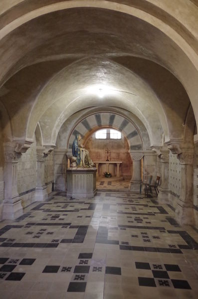 The crypt (Lalouvesc,Ardèche), Historic site and monument