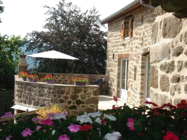 La Roche des Vents (Saint-Alban-dAy,Ardèche), Furnished ac